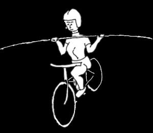 Balans på cykel